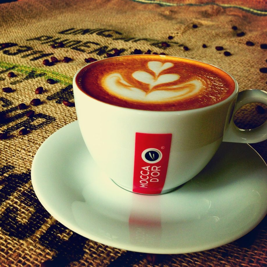 koffie moca dor